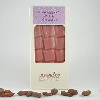 Aroha Çilekli Beyaz Çikolata