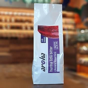%85 Kakao - Hurma Ýle Tatlandýrýlmýþ Bitter Çikolata Kuvertürü, 0.5 kg. ve  2 Kg seçenekleri ile
