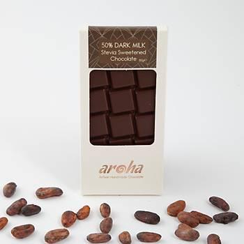 Aroha Stevialý Sütlü Çikolata - %50 Kakao