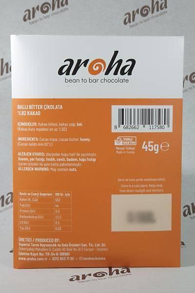 Single Origin Ghana- Þeker Ýlavesiz Ballý Çikolata. %82 Kakao - 45 Gr. Ýnce Tablet