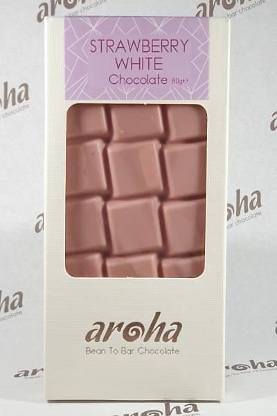 Çilekli Beyaz Çikolata