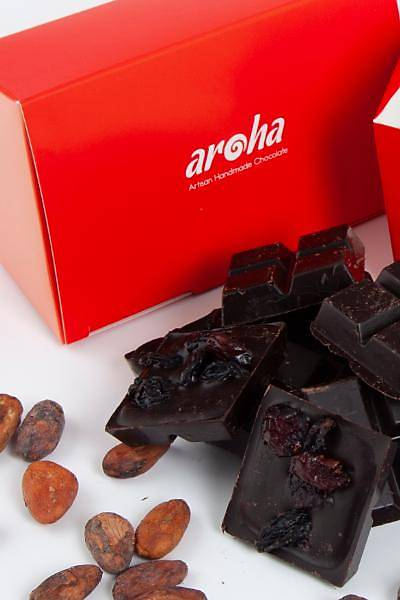 6 Adet %100 Kakao, Þekersiz Mini Tablet Çikolata