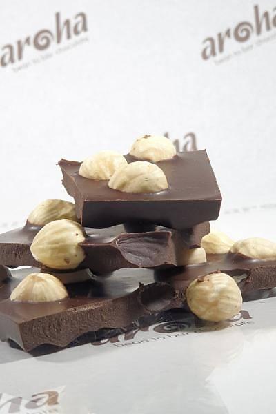 Þeker Ýlavesiz Fýndýklý, Karadut Özlü Bitter Çikolata - %88 Kakao - 4 Adet