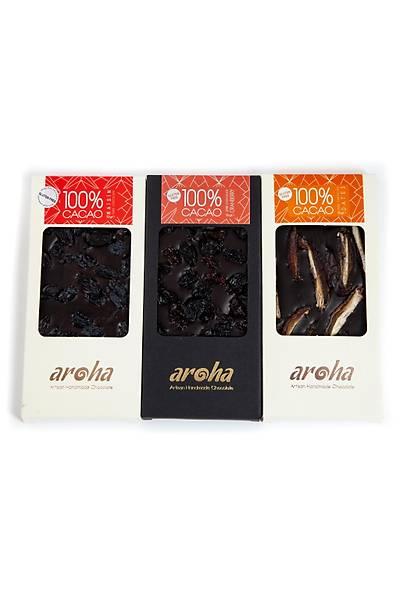 Aroha Çikolata Þeker Ýlavesiz Seri - % 100 Kakao