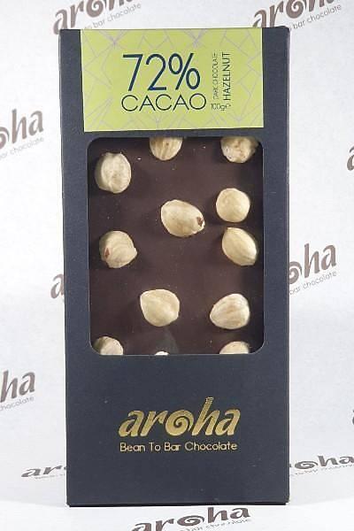 Fýndýklý Bitter Çikolata - %72 Kakao