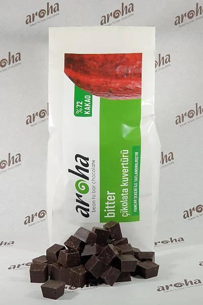 %72 Kakao - Bitter Çikolata Kuvertürü  500 GR / 2 KG seçenekleri ile