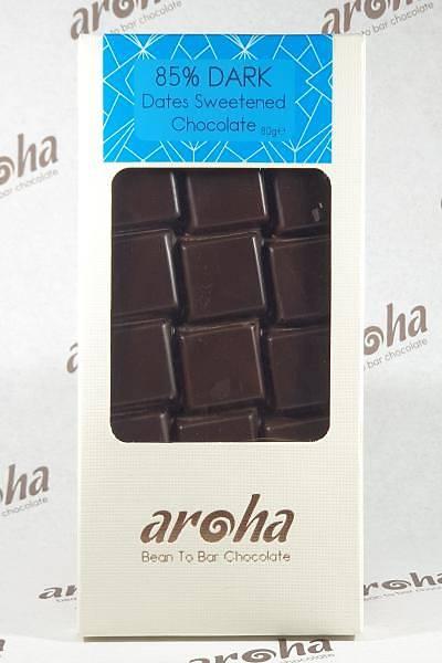 Þeker Ýlavesiz Hurma Özlü Bitter Çikolata - %85 Kakao