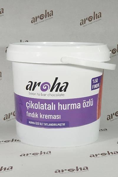 Þeker Ýlavesiz, Çikolatalý Fýndýk Kremasý-Hurma Özü Ýle Tatlandýrýlmýþ, 1 Kg