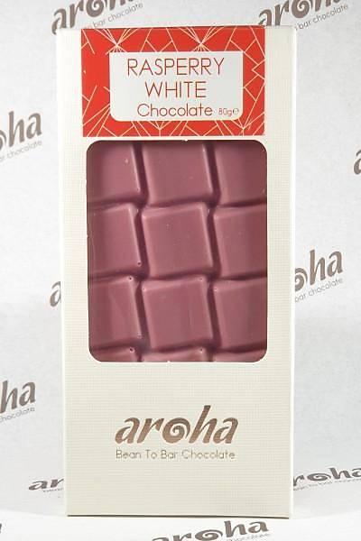 Aroha Frambuazlý Beyaz Çikolata - %50 Kakao