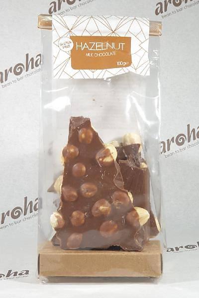 Fýndýklý Sütlü Çikolata - %50 Kakao - 100 - 300 - 600 Gr. seçenekleri ile.