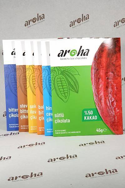 Aroha Bean to Bar En Sevilenler Serisi- 45 gr *6