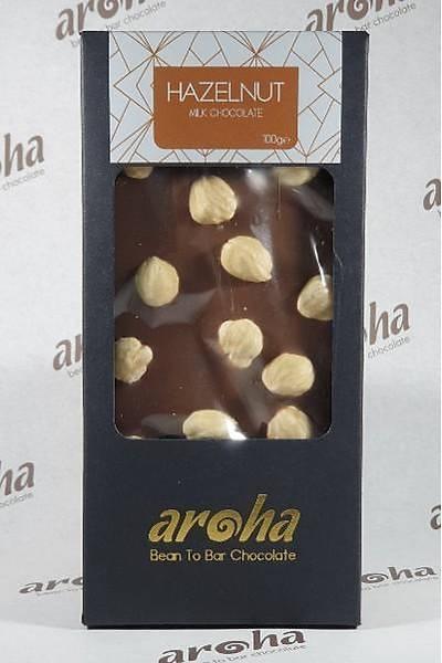 Aroha Fýndýklý Sütlü Çikolata - %50 Kakao