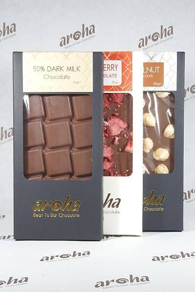 Sütlü Çikolata - %50 Kakao - Üçlü Lezzet