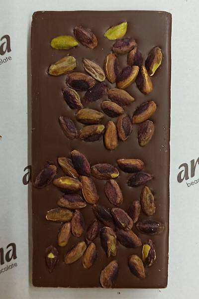 Antepfýstýklý Sütlü Çikolata - %50 Kakao