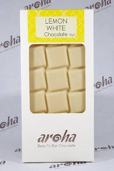 Aroha Limonlu Beyaz Çikolata - %50 Kakao
