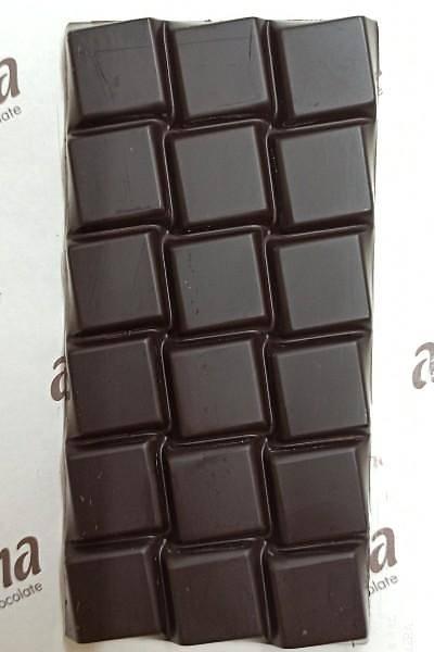 Þeker Ýlavesiz Simsiyah Çikolata - %100 Kakao - 6 Adet