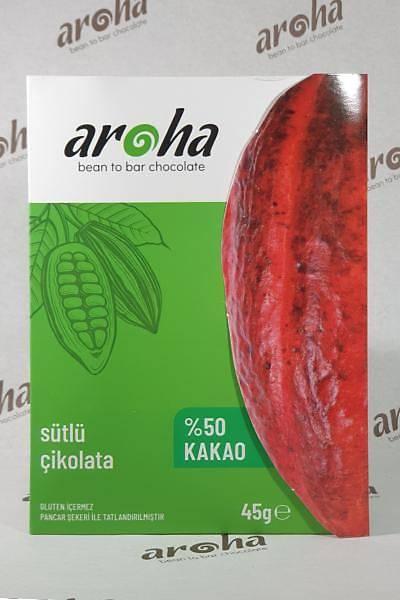 Sütlü Çikolata - %50 Kakao - 45 Gr. Ýnce Tablet