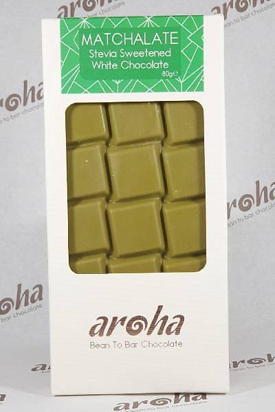 Þeker Ýlavesiz Stevialý Matchalate (Matcha Tozlu Beyaz Çikolata)