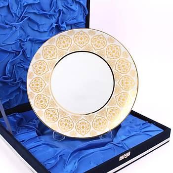 Elsanat Rumi-x Porselen Plaket 25cm Kurumsal Hediye