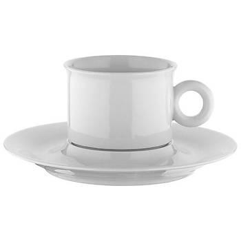 Kütahya Porselen Ala Çay Nescafe Fincaný Tabaklý 6 Adet