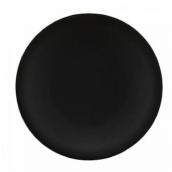 36 Parça Mat Siyah Porselen Misafir Servis Takýmý