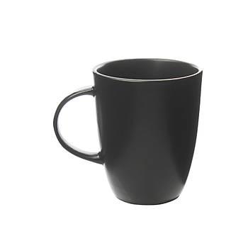 Güral Porselen Premium Mat Siyah Porselen Kupa 2 Adet