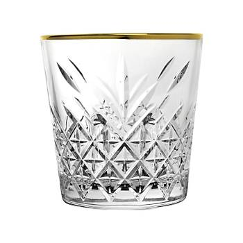 Paþabahçe Premium Gold Rim Viski Bardaðý 6 adet