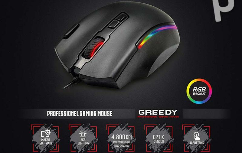 gaming mouse nail olmalidir