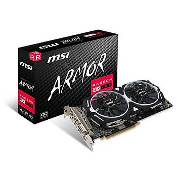 MSI VGA RADEON RX 580 GAMING 4G RX580 4GB GDDR5 256b DX12 PCIE 3.0 x16 (1xDVI 2xHDMI 2xDP)