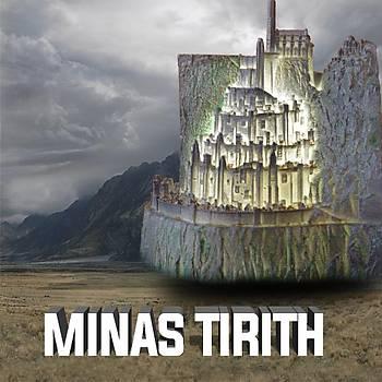 Yüzüklerin Efendisi Minas Tirith Gece Lambasý