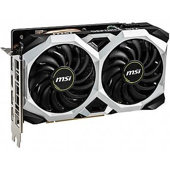 Msi VGA Geforce GTX 1660 TI Ventus XS 6G GTX1660TI 6GB GDDR6 192B DX12 PCIE 3.0 X16 (1XHDMI 3XDP) Ekran Kartý