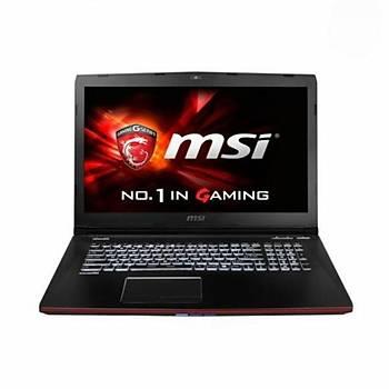 MSI NB GE62 2QC(APACHE)-607XTR I7-5700HQ 8GB GTX960M GDDR5 2GB 1TB 7200RPM 15,6 FHD DVD DOS