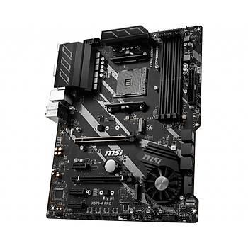 Msi X570-A Pro AM4 DDR4 4400MHZ (OC) 2xM.2 USB 3.2 HDMI Atx Anakart