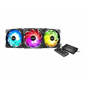 MSI MAX F12A-3H ARGB 120MM 3LU FAN VE RGB KONTROLCU