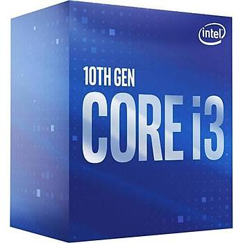 Intel Core i3 10100 3.6GHz LGA1200 6MB Cache Ýþlemci