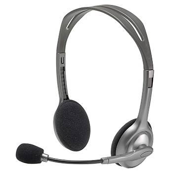 Logitech H110 Stereo Kulaküstü Kulaklýk 981-000271