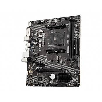 MSI A520M-A PRO AM4 DDR4 4600(OC) DVI HDMI M.2 USB3.2 mATX