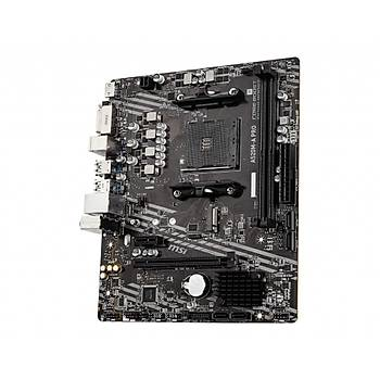 Msi A520M-A Pro AM4 DDR4 4600(OC) DVI HDMI M.2 Usb3.2 Matx Anakart