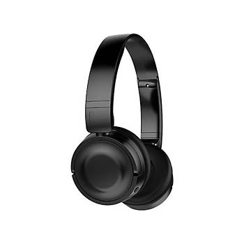 Hytech HY-XBK33 Batty TF Kart Özellikli Kulak Üstü Bluetooth Kulaklýk -  Siyah