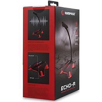 Rampage SN-RMX8 Echo-R USB Oyuncu Masaüstü Mikrofon
