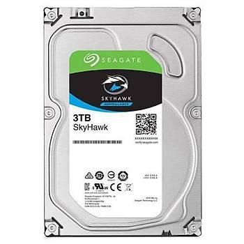 SEAGATE SKYHAWK 3.5 3TB SATA 3.0 64MB 180MB/S 5400 RPM ST3000VX009