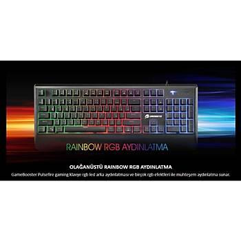 GameBooster G4 Pulsefire Rainbow Yarý-Mekanik Oyuncu Klavyesi