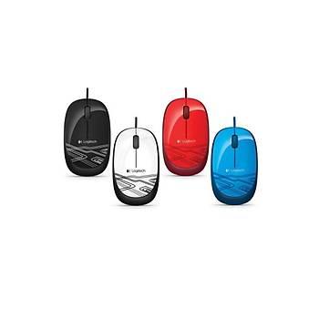 Logitech M105 Mouse Usb Kablolu Optik 1000 Dpý 3 Buton