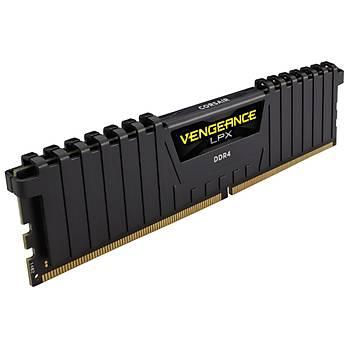 Corsair CMK64GX4M2D3600C18 64GB (2X32GB) DDR4 3600MHz CL18 Vengeance Black LPX Soðutuculu DIMM Bellek Ram