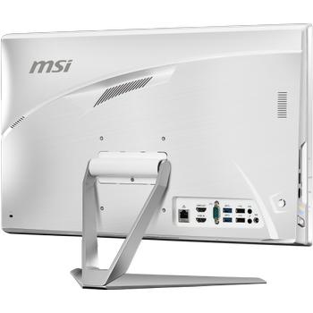 MSI AIO PRO 22XT 9M-022XTR 21.5 FHD (1920X1080) MULTI-TOUCH I5-9400 8GB DDR4 256GB SSD+1TB HDD DOS BEYAZ-BEYAZ-BEYAZ