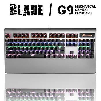 GameBooster G9 Blade RGB Aydýnlatmalý Bileklikli Mekanik Klavye