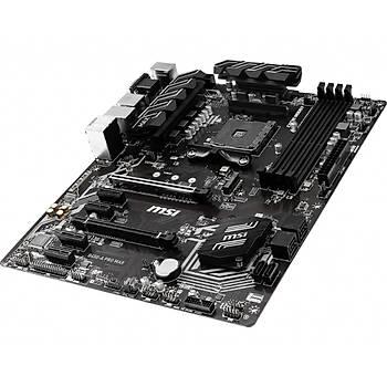 Msi B450-A Pro Max AM4 DDR4 3466(OC) VGA DVI HDMI M.2 Usb 3.1 Atx Anakart