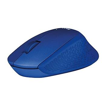 Logitech M330 Sessiz Kablosuz Mouse-Mavi 910-004910