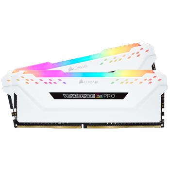 Corsair Vengeance RGB Pro 16GB (2x8GB) DDR4 3200MHz C16 Beyaz Ram