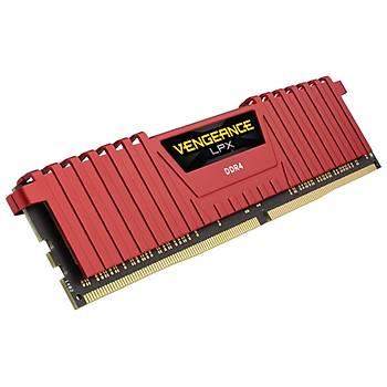 CORSAIR CMK32GX4M2B3000C15R 32GB (2X16GB) DDR4 3000MHz CL15 VENGEANCE KIRMIZI LPX SOGUTUCULU DIMM BELLEK
